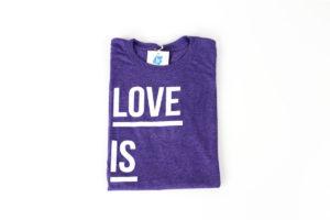 Purple Love is Brave T-Shirt