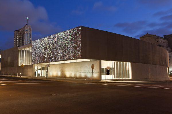 <em>Jennifer Steinkamp: Orbit</em>, installation view, Contemporary Art Museum St. Louis, October 11-December 29, 2013.