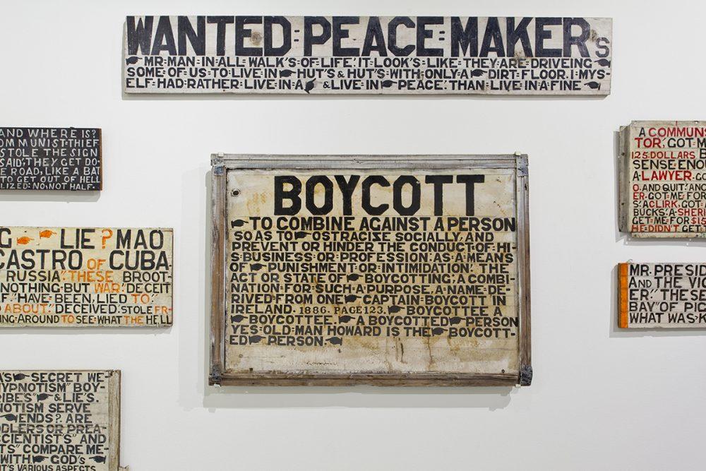 <em>Jesse Howard: Thy Kingdom Come</em>, installation view, Contemporary Art Museum St. Louis, January 16–April 11, 2015. Photo: David Johnson.