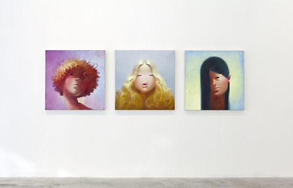 <em>Lisa Yuskavage: The Brood</em>, installation view, Contemporary Art Museum St. Louis, January 15–April 3, 2016. Photo: David Johnson.
