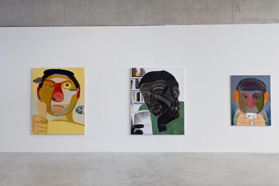 Installation view of Dear Nemesis, Nicole Eisenman 1993-2013