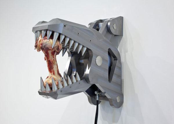 <em>Arcangelo Sassolino: Not Human</em>, installation view, Contemporary Art Museum St. Louis, January 15–April 3, 2016. Photo: David Johnson.