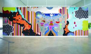 Installation view of Dzine: Punk Funk