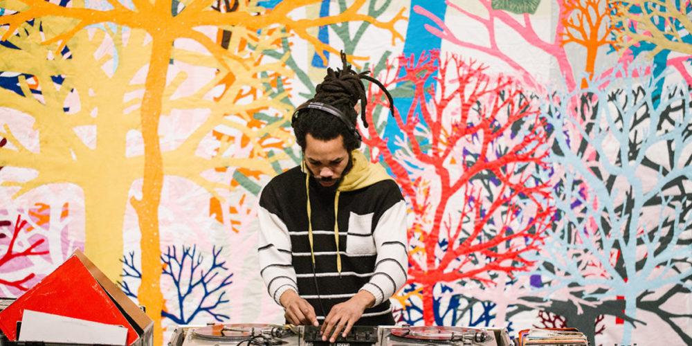 2018 DJ-in-residence 18andCounting. Photo: Abby Gillardi.