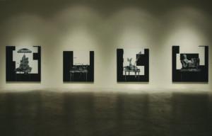 Installation view of Matthew Strauss: Dead Language