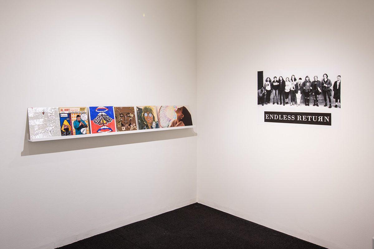 <em>New Art in the Neighborhood: Endless Return</em>, installation view, Contemporary Art Museum St. Louis, May 11–August 19, 2018. Photo: Dusty Kessler.