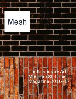 Mesh Magazine cover: Mesh 2016-17