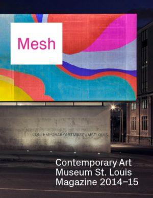 Mesh Magazine cover: Mesh 2014-15