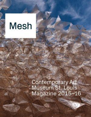 Mesh Magazine cover: Mesh 2015-16