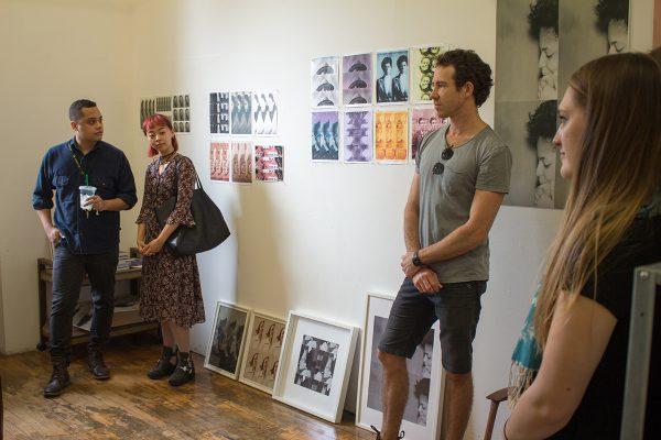 Open Studios STL 2017. Studio of Jen Everett. Photo: Shabez Jamal.