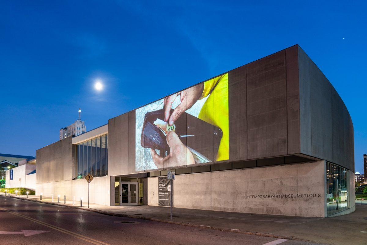 <em>Jonathas de Andrade: Voyeristico</em>, installation view, Contemporary Art Museum St. Louis, September 6–December 29, 2019. Photo: Dusty Kessler.