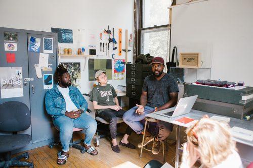 Studio of Kevin McCoy, Open Studios STL 2018. Photo: Abby Gillardi.