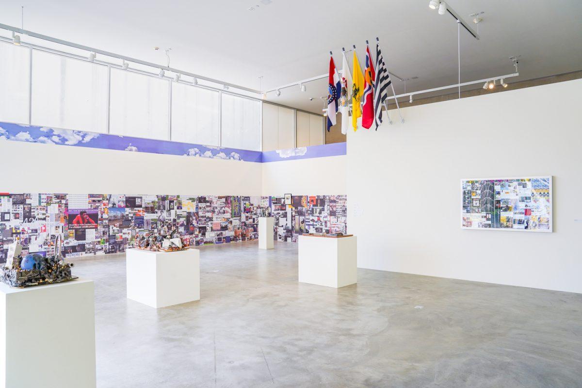 <em>Kahlil Robert Irving: At Dusk</em>, Great Rivers Biennial 2020, installation view, Contemporary Art Museum St. Louis, September 11, 2020—February 21, 2021. Photo: Dusty Kessler.