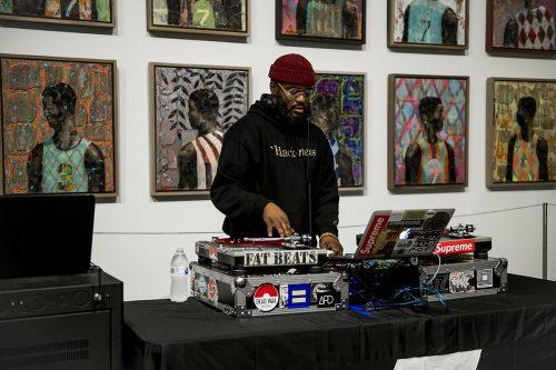 DJ James Biko. Photo: Wil Driscoll.