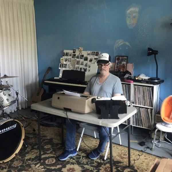 Tim Youd prepares for <em>The Tunnel</em> in his LA garage. Courtesy the artist.