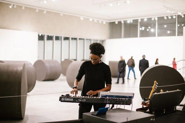 2019 DJ-in-residence Syna So Pro. Photo: Abby Gillardi.