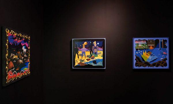 <em>Yowshien Kuo: Western Venom</em>, installation view, Contemporary Art Museum St. Louis, September 11, 2020–February 21, 2021. Photo: Dusty Kessler.