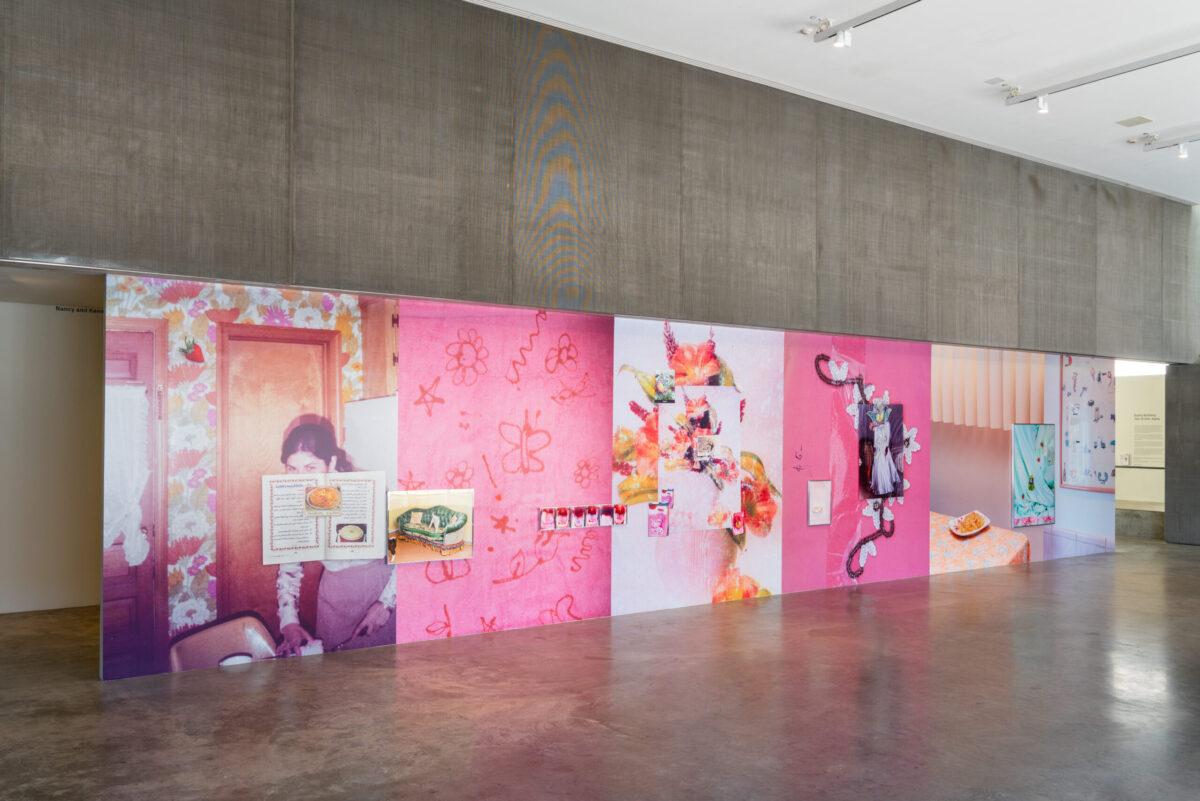<em>Farah Al Qasimi, Everywhere there is splendor</em>, installation view, Contemporary Art Museum St. Louis, September 3, 2021–February 27, 2022. Photo: Dusty Kessler.