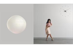 Jen Liu, <em> Pink Slime Caesar Shift: Gold Loop </em>, 2020-21. 4K video (color, 4-channel sound). Courtesy the artist and Upstream Gallery, Amsterdam.