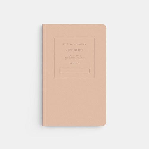 """Memo Orange 5"""" x 8"""" Embossed Ruled Notebook"""