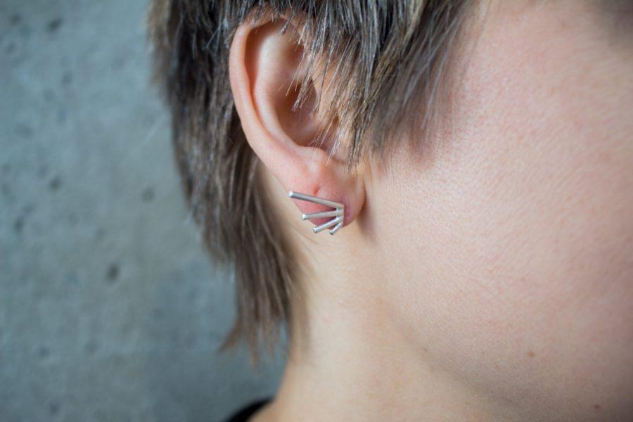 Burst Post Earrings