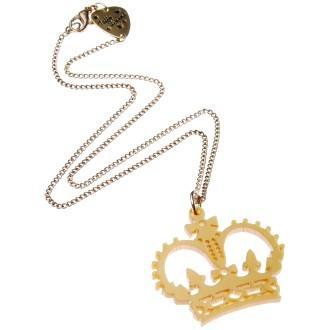 Tatty Devine Crown Mini Necklace