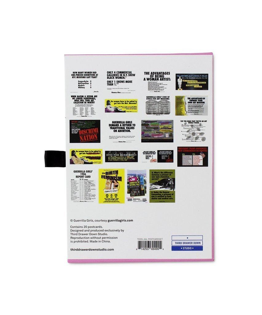 Guerrilla Girls Postcard Box Set