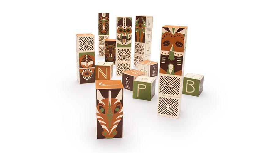 Swahili ABC Blocks